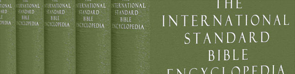Picture of the International Standard Bible Encyclopedia 5-volume set.